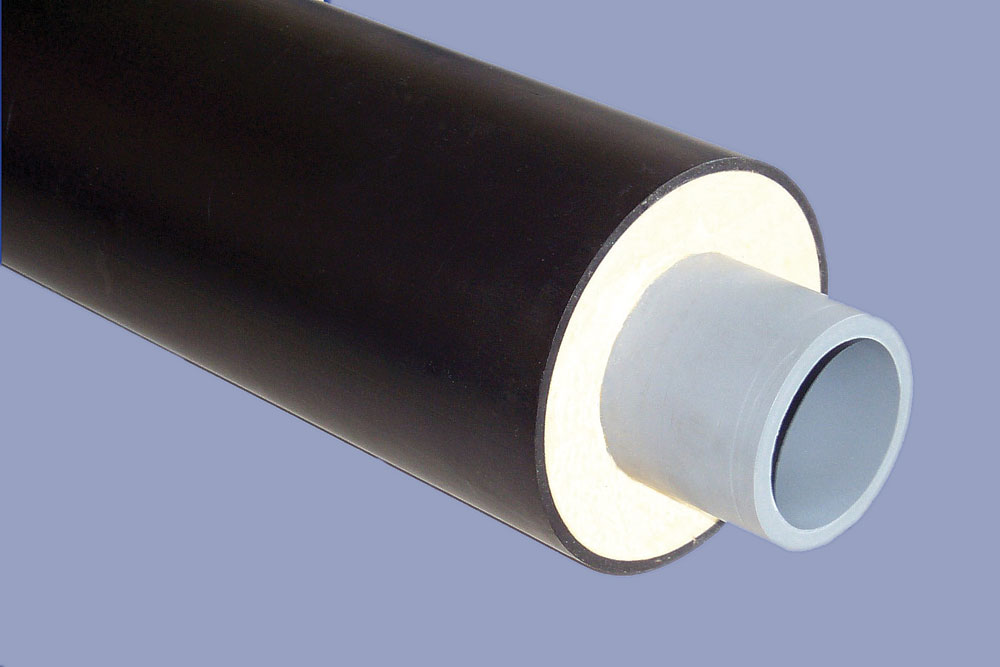 PB straight Length preinsulated District Heating Pipe